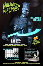 Halloween Lights Show by Haunted Nightmare At The Nile Scary Events