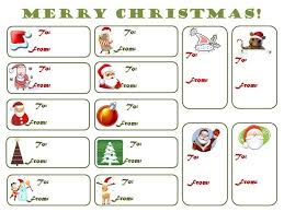 free printable christmas labels template u2013 festival collections