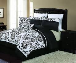 California King Black Comforter Bedroom Grey And Black Comforter Black And White Comforter Set