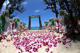 hawaiian themed wedding crazydevil