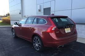 volvo station wagon 2015 2015 volvo v60 t5 first time in snow