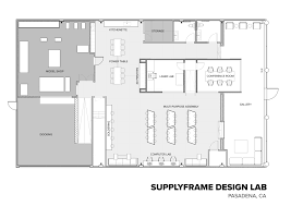 Computer Lab Floor Plan Gallery Of Supplyframe Designlab Cory Grosser Associates 12