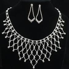 diamond sets design china fashion new design jewelry diamond set with earring and