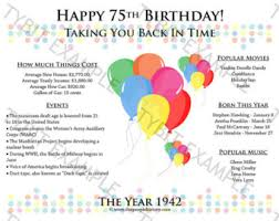 Favors For 75th Birthday by Happy 50th Birthday 1967 Print Or Favor Digital