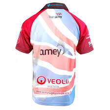 British Flag Shirts Tony Pryce Sports Samurai British Army Flag Rugby Shirt Multi