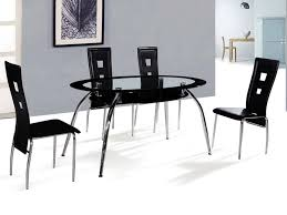 Black Oval Dining Room Table - oval dining table modern home decorations
