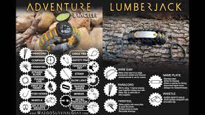 bracelet survival kit images Wazoo survival gear overview and philosophy jpg