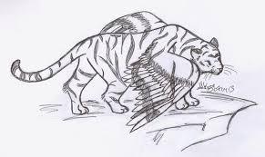 winged tiger by alakazam on deviantart