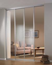 elegant wall partitions for room comes with sliding glass