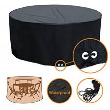Round Patio Table Covers by Amazon Com Fellie Cover Patio Table Chair Cover Round Patio