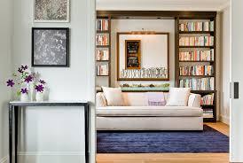 Sleeper Sofa Boston Boston Modern Sofa Sleeper Home Office With Beige Throw Pillow