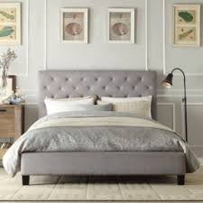 Quilted Bed Frame Tufted Headboard With Wood Frame Foter