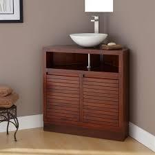corner bathroom vessel sink cabinet u2022 corner cabinets