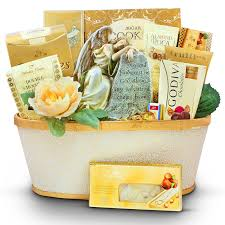 bereavement gift baskets the angel from above sympathy gift basket gourmet gift basket