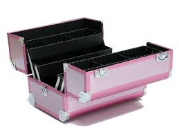 Box Makeup wholesale alibaba pink small aluminium makeup vanity cosmetic