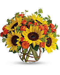 sunflower bouquet sunflowers teleflora