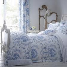 Dorma Bed Linen Discontinued - dorma toile blue bed linen collection dunelm