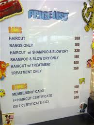 regis hair salon price list braehead regis salon prices all