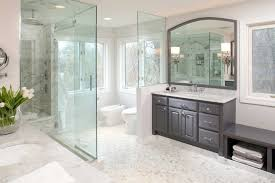 exellent white and gray master bathrooms clean looking all with to