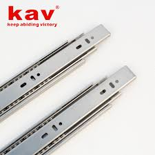 Kitchen Cabinet Slides B450 Stainless Steel Ball Bearing Drawer Slides 2 Soft Close