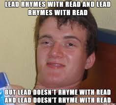 English Meme - sometimes i hate the english language meme on imgur