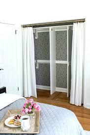 Bamboo Closet Door Curtains Alluring Bamboo Closet Door Curtains Decorating With Bamboo Closet