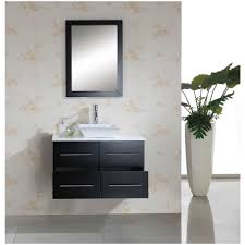 White Bathroom Mirror by Bathroom White Bathroom Vanities 355 Wall Mount Solid Wood