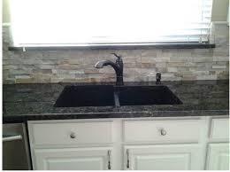 backsplash for kitchen white cabinets u0026 giallo napoli granite