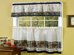 Fabric Kitchen Curtains Simple U2014 Railing Stairs And Kitchen Design