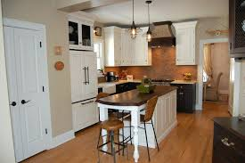 kitchen island using ikea cabinets with seating country decorating