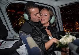 mariage las vegas prix mariages mariage en hélicoptère dans le ciel de las vegas