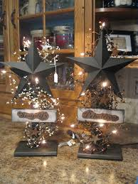 lighted stars primitive country pinterest star lights and