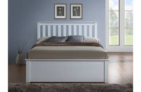 Wooden Ottoman Bed Frame Lovable White Wooden Ottoman Bed Hemling Interiors