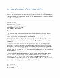 letter or recommendation format