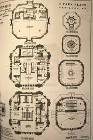 penthouse floor plans massive penthouse in the woolworth building u0027s iconic copper