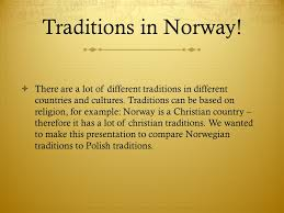 traditions in and poland traditions in there