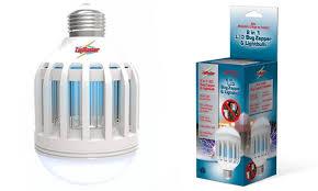 light bulb bug zapper reviews up to 64 off on zapmaster light bulb bug zapper groupon goods