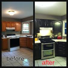 Black Cabinets Kitchen Re Stained Cabinets Using Java Gel Stain Very Easy To Use And