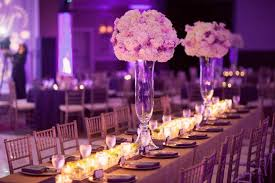 Tall Table Centerpieces by 30 Stunning Wedding Reception Table Setting Ideas