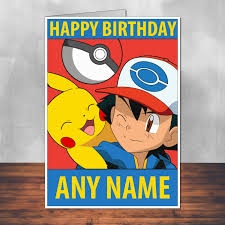 pokemon birthday card template images pokemon images