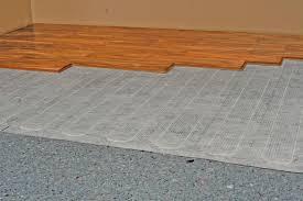 laminate flooring radiant heat wood floors