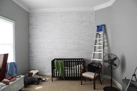 How To Paint A Faux Brick Wall - wishy washy brick wall bower power