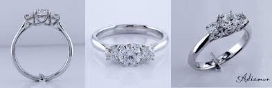 wedding rings treated blue diamonds dark blue diamond ring blue