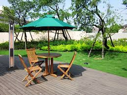 Halcyon Patio Furniture Infrared Heaters And Patio Furniture For A Formal Garden Design