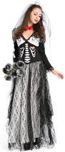 boneyard skeleton bride costume n9124