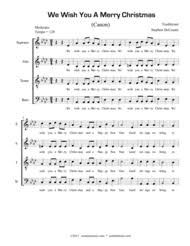 download merry christmas canon sheet music