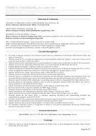 Sample Of One Page Resume by Teddy Tabanao Cv Rev2