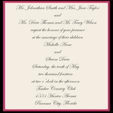 wedding invitation exle exle for wedding invitation popular wedding invitation 2017