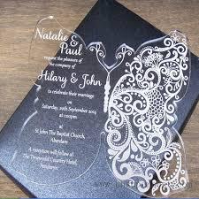 acrylic wedding invitations acrylic wedding invitation acrylic wedding invitation suppliers