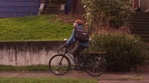 cycling waterproofs funny commercial bike messenger in the rain waterproof